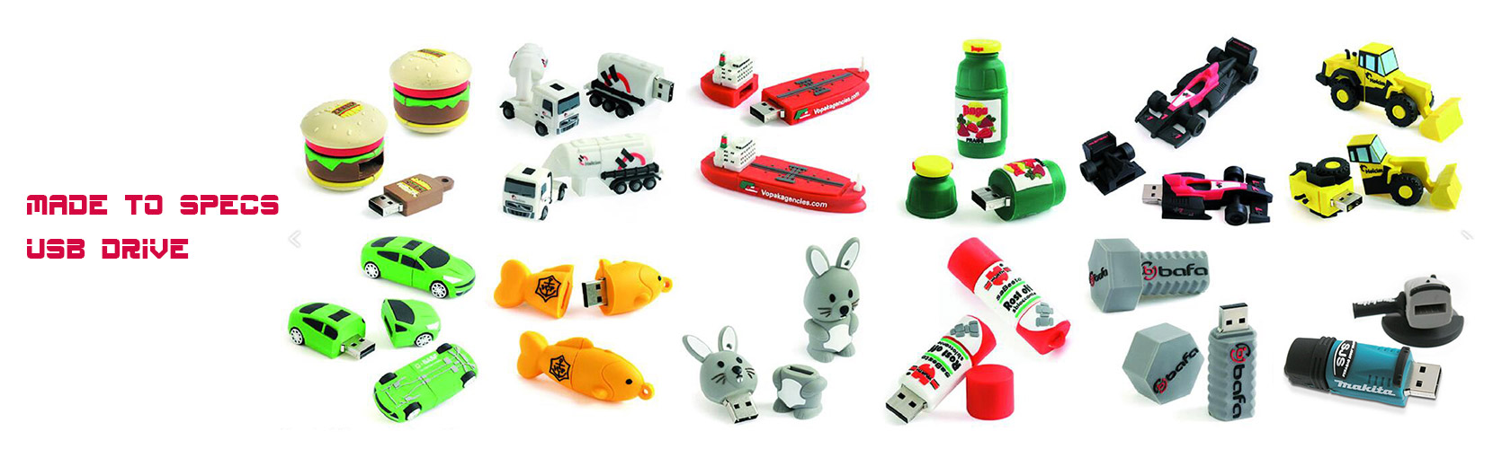 customized pvc USB Flash Drives and USB hubs for premium gifts or corporate gifts